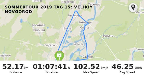 RISER - Trip: Sommertour 2019 Tag 15: Velikiy Novgorod