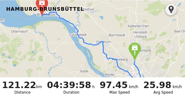 RISER - Trip: Hamburg-Brunsbüttel