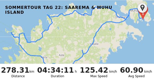 RISER - Trip: Sommertour Tag 22: Saarema & Muhu Island